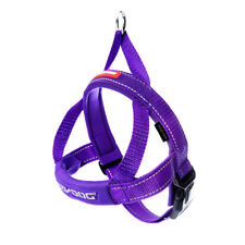 EzyDog Quick Fit Harness Dog 10 Colours 5 Sizes Comfort Neoprene Easy on off L Purple