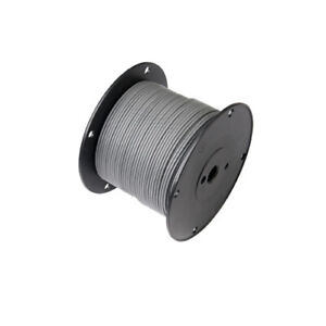 100ft  20awg 20ga Silvered Gray Mil-W-7754150/20 Teflon Stranded Wire Hook UP