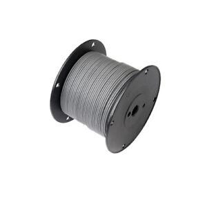 100ft  20awg 20ga Gray Mil-W-7754150/20 Teflon Stranded Wire Hook UP L3