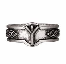 Nordic Viking Rune Algiz Slavic Ring Size U