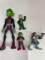 Teen Titans Figure Kids Toy Gift Beast Boy Cyborg Gizmo