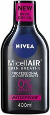 NIVEA MicellAIR Professional Micellar Water Make-Up Remover (400ml), Pack of 3