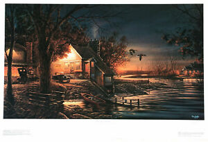 That Special Time by Terry Redlin Signed Limited Edition 2400 Paper RARE NEW