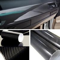1tlg 152*30cm 5D SUV KFZ Auto Kohlefaser Aufkleber Wasserdicht DIY Sticker Folie