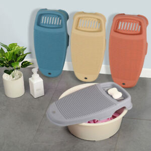 Portable Washboard Clothes Cleaning Tools Plastic Washing Board Laundry Tools
