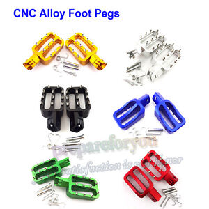 Alloy Foot Pegs For 50 90 110 125 140 150 160 cc XR50 CRF70 SDG Pit Dirt Bike