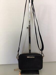 Aldo Faux Leather Shoulder Clutch Bag In Black. Excellent Condition.