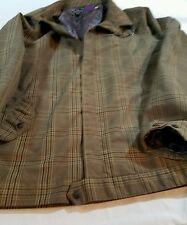 Men's Volcom coat L jacket PLAID