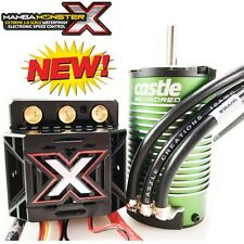 Castle Creations Mamba Monster X  1/8 WP ESC + Sensored 1512-2200KV Motor COMBO