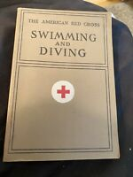 VINTAGE 1938 THE AMERICAN RED CROSS SWIMMING AND DIVING BOOK