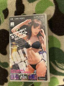 Sony PSP UMD - MIHIRO Sexy Casino Game Japanese Sexy Actress