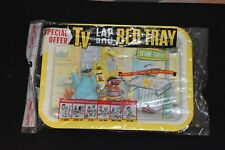 NEW SEALED UNOPENED -  VINTAGE 1977 Sesame Street Metal TV Lap Tray Collectible