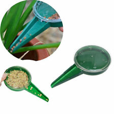 Dark Green Garden Plant Dispenser Sower Planter Dial Adjustable Tool