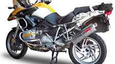 BMW R1200GS Exhaust Stainless Tri Oval by GPR Italian made R1200GS 2010-12