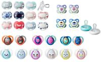 Tommee Tippee Soothers 0-6m / 6-12m / 6-18m Different Types Many Styles
