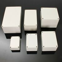 ABS Plastic Electronic Project Box Junction Enclosure Case Waterproof + Screw US