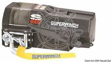 SUPERWINCH Marine Boat Winch 12V 1300W 384lx220dx152h mm 17.8kN + 18.2 m Cable