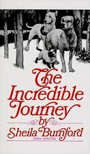 The Incredible Journey by Sheila Burnford (1995, Paperback)