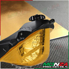 Gold Reflective Adhesive Heat Shield Material For Yamaha TW200 / TY250 / TZR50