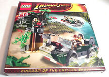 Lego 7625 Indiana Jones Kingdom of the Crystal Skull River Chase (Brand New)
