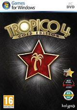 TROPICO 4 - GOLD EDITION | PC | DVD | NEU & OVP | USK18