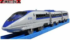 PLA-RAIL S-02 500 Bullet Train Shinkansen With Lights By Tomy Trackmaster Japan