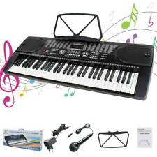 Digital 61 Tasten Keyboard E-Piano Klavier 255 Sounds Rhythmen Lern Funktion DE