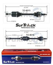 2 Front CV Axle Shafts SurTrack Set for Lexus ES300 Toyota Camry Avalon Sienna