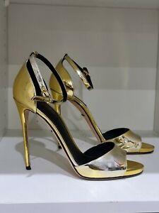Dolce & Gabbana heels - gold / silver metallic size 39 ! 100% authentic