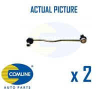 2 x NEW COMLINE FRONT DROP LINK ANTI ROLL BAR PAIR OE QUALITY CSL7180