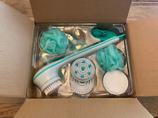 New Hsn Spin Spa Body Brush Deluxe 10 Piece Kit As Seen On Tv Idea Village Green