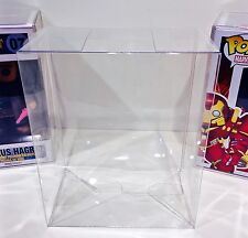 "1 Box Protector HULKBUSTER / HAGRID FUNKO POP! 6"" Vinyl Figures   Display Case"
