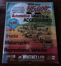 Vintage 1975 J. C. Whitney & Co Catalog No. 340 Automotive Parts & Accessories