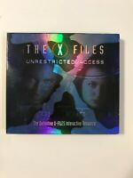 THE X-FILES: UNRESTRICTED ACCESS; 2 DISC PC GAME; COMPLETE