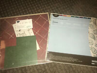 74pc Jewel Lot Creative Memories 12x12 Kit Stickers Scrapbook Paper Christmas