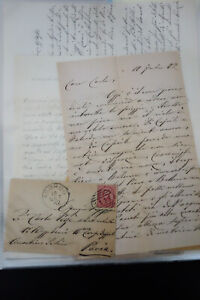Italy Stamps 1800's One Family Correspondence 250 Stamp Covers
