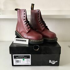 【Dr Martens X Bape】 Pascal 1460 Boots Cherry Red New UK8  Genuine Limited Ed
