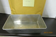 New listing Metal Meat/Bread Loaf Tray Oven Baking Bread Pan