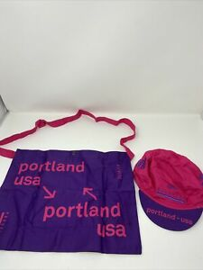 New Rapha Prestige Portland Cycling Cap & Musette Pink