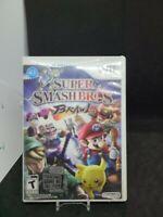 Super Smash Bros. Brawl (Nintendo Wii, 2008) CIB / Complete with Manual - Tested