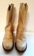 Womens Size 7 M Texas Western Cowboy Roper Boots