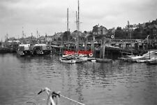 PHOTO  1951 THE WEST QUAY NEWHAVEN SUSSEX NOTE THE TWO RAF HIGH SPEED RESCUE LAU