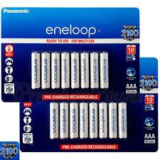 16 x Panasonic Eneloop AAA batteries 750 mAh Rechargeable Ni-MH Accu BK-4MCCE
