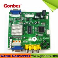 Gonbes GBS-8200/8220 CGA/EGA/YUV/RGB To VGA Arcade Game HD Video Converter