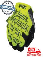 MECHANIX WEAR - Hi-Viz Original E5 - Fluorescent Yellow Color - Size Large - NEW