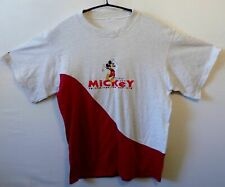 "MICKEY MOUSE vintage T shirt 90s UK UK M US S  40"" 102 cm"