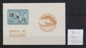 ! Paraguay 1962.  Block  Stamp. YT#B25. €75.00!
