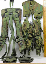U.S. Army USMC Tactical Load Bearing Vest w/Straps Shoulders Frame Military Camo