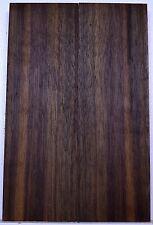 "knife Scales BLACK WALNUT Bookmatch Pistol Grip 5 1/2"" x 1 3/4"" Wood BULK"