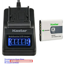 Kastar Battery LCD Quick Charger for Sony NP-BK1 BC-CSK Sony Cyber-shot DSC-W370